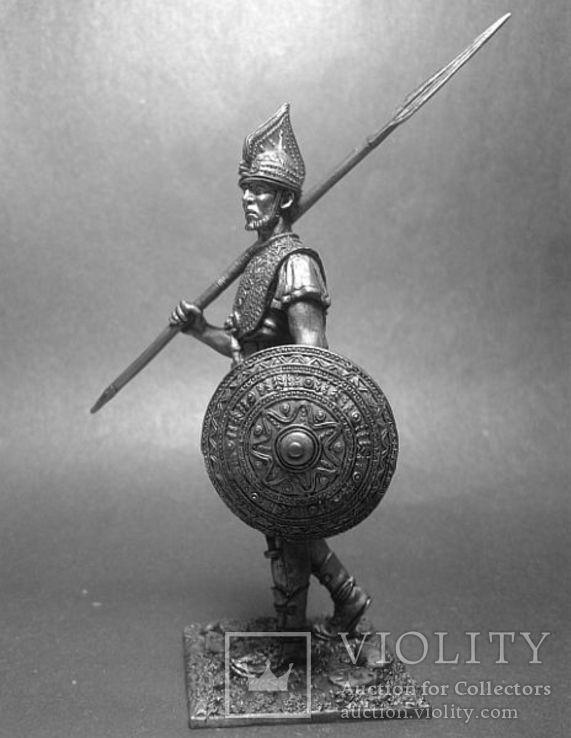 Древние италики. Воин Вилланова. 7 век до н.э., фото №3