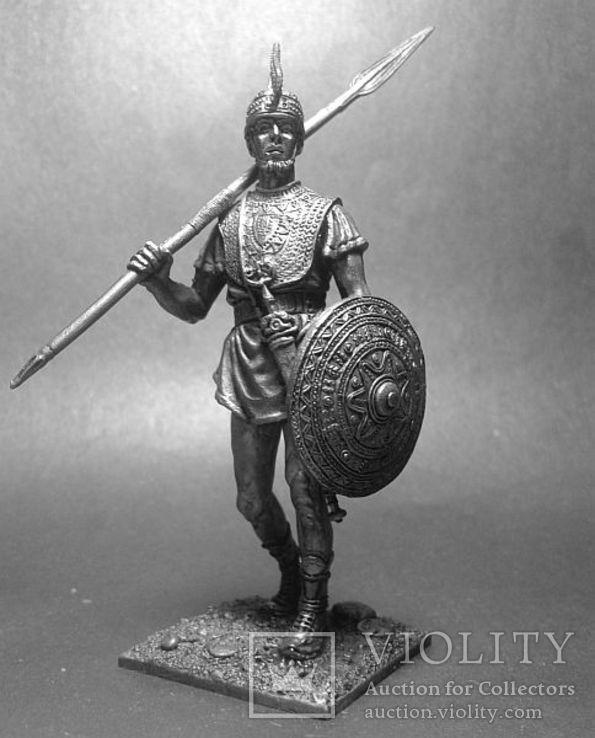 Древние италики. Воин Вилланова. 7 век до н.э., фото №4