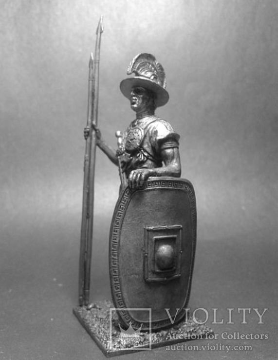 Древние италики. Воин вольсков. 4-5 век до н.э., фото №3