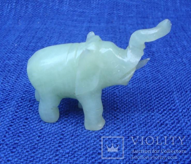 Слон и лягушка из оникса. Германия., фото №4