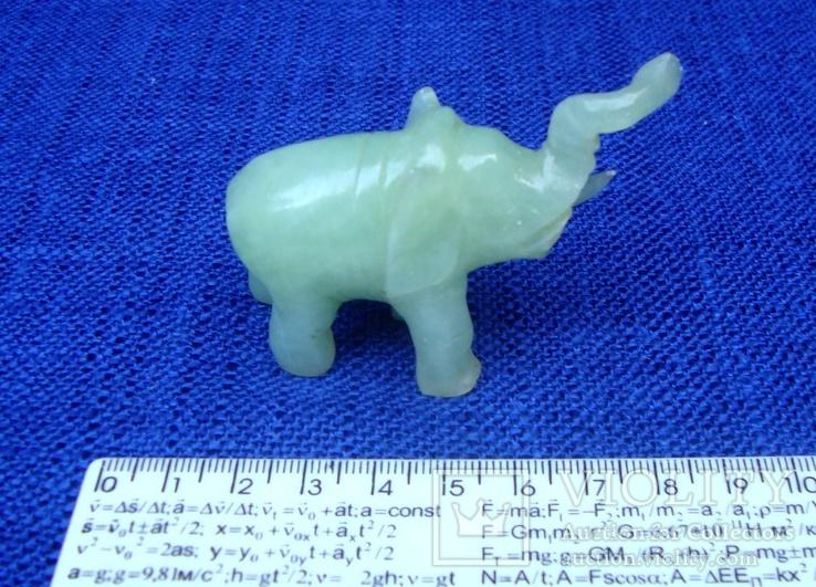 Слон и лягушка из оникса. Германия., фото №5