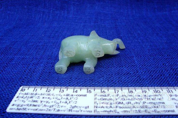 Слон и лягушка из оникса. Германия., фото №6
