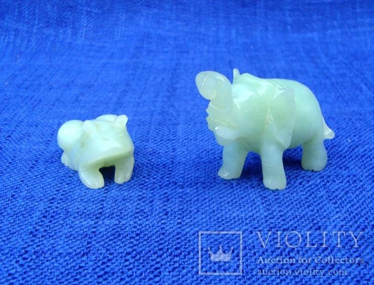 Слон и лягушка из оникса. Германия., фото №10