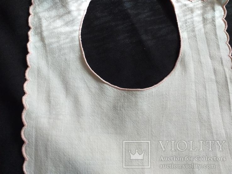 Слюнявчики  птички винтажные, фото №6