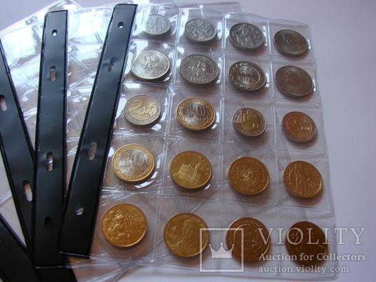 10 листов к альбому для монет Тип-20.Оригинал логотип SCHULZ Польша, фото №5