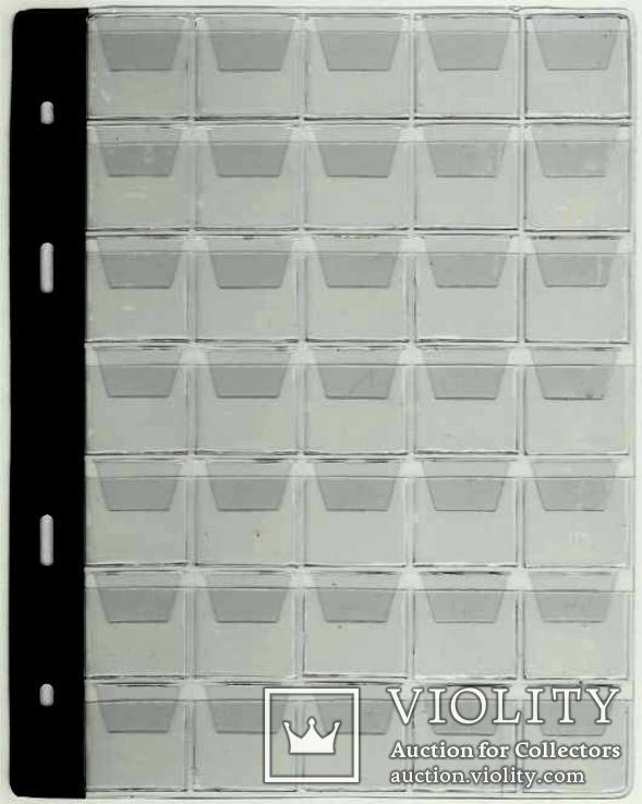 10 ЛИСТОВ к альбому для монет Тип-35 SСHULZ ОРИГИНАЛ Польша, фото №5