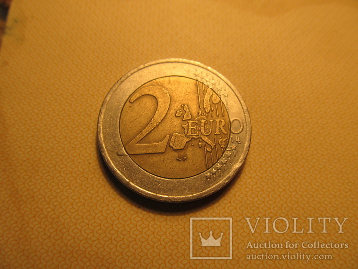 2 евро 2002г, фото №3
