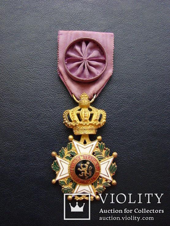 Бельгия - Орден Леопольда I, фото №4