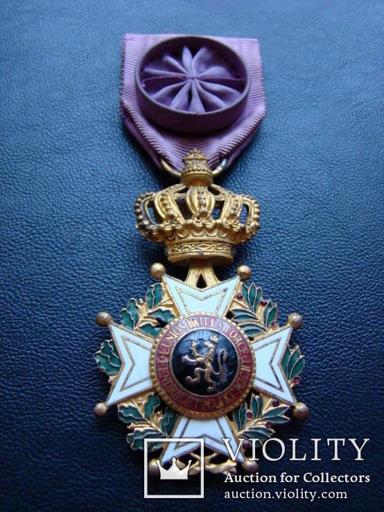 Бельгия - Орден Леопольда I, фото №6