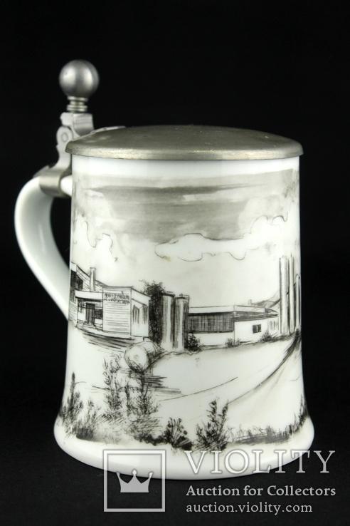 Коллекционная пивная кружка. Kaiser. Hubert Weber Design. Германия. (0373), фото №3