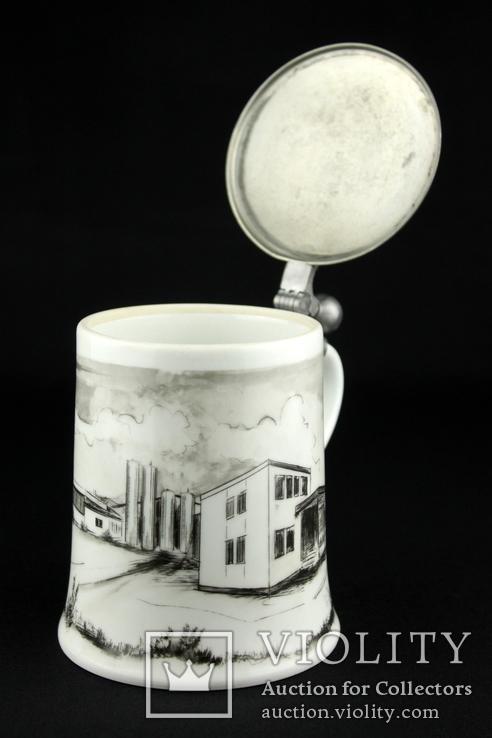 Коллекционная пивная кружка. Kaiser. Hubert Weber Design. Германия. (0373), фото №7
