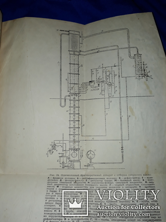 1949 Брагоперегонный аппарат спиртового завода, фото №3
