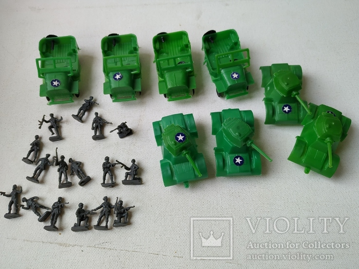 Солдатики миниатюрные и военная  техника, фото №4
