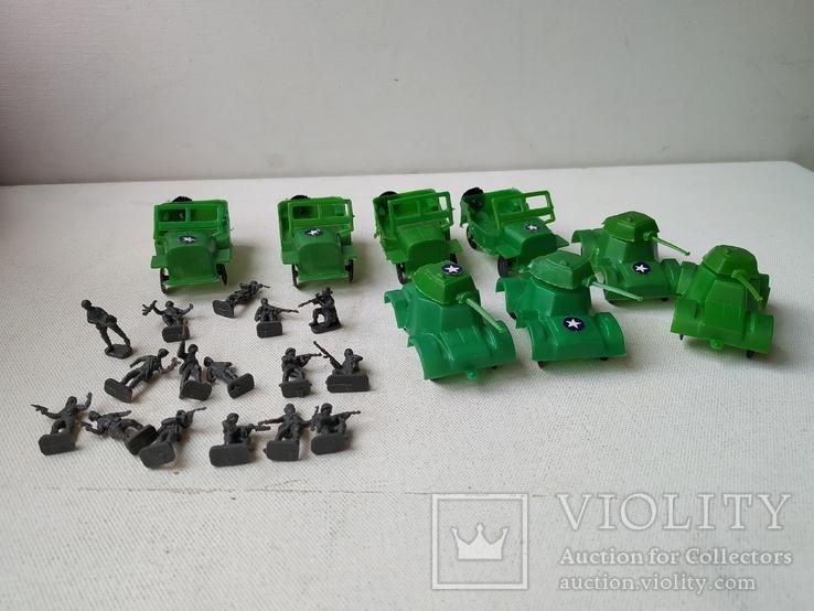 Солдатики миниатюрные и военная  техника, фото №5