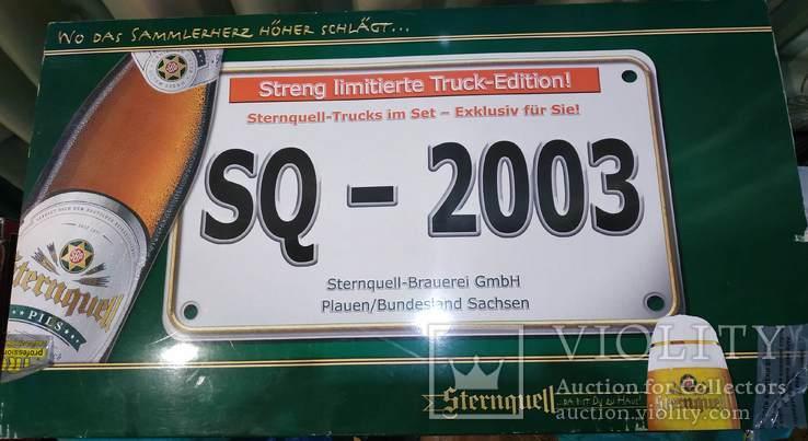 Большой набор Грузовиков из Германии с рекламой, фото №3