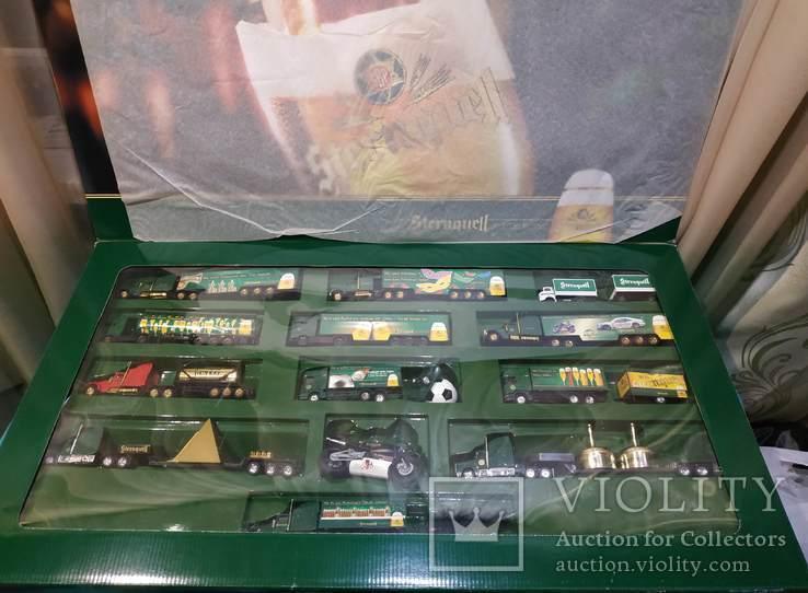 Большой набор Грузовиков из Германии с рекламой, фото №2