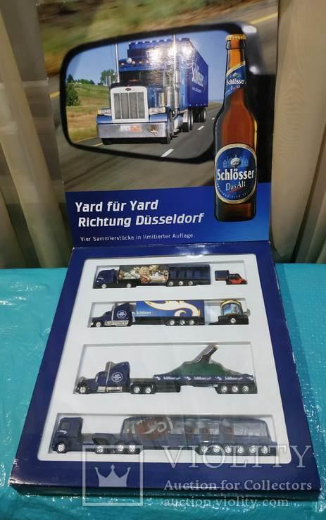 Набор грузовик из Германии с рекламой, фото №2