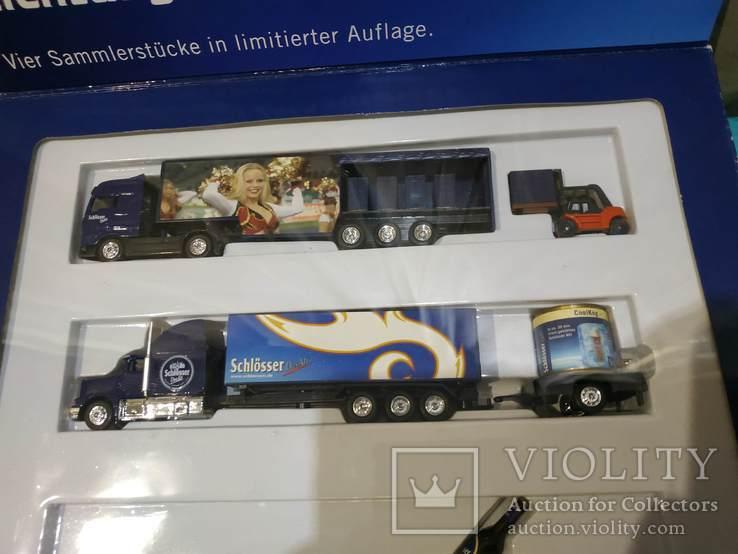 Набор грузовик из Германии с рекламой, фото №4