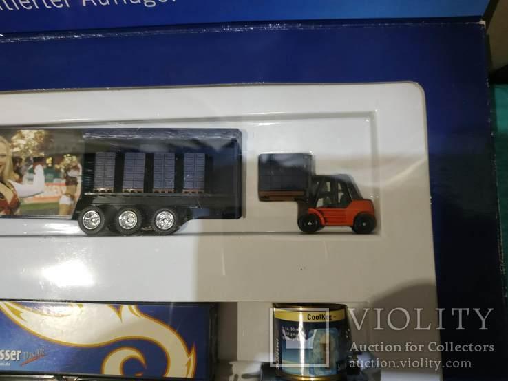 Набор грузовик из Германии с рекламой, фото №7