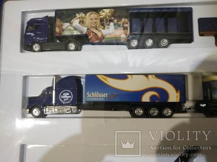 Набор грузовик из Германии с рекламой, фото №8