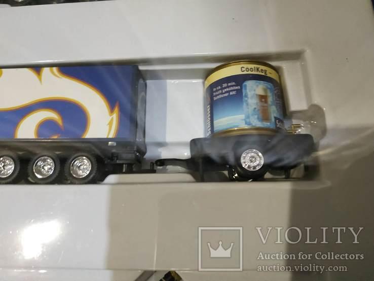 Набор грузовик из Германии с рекламой, фото №9