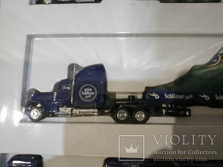 Набор грузовик из Германии с рекламой, фото №10