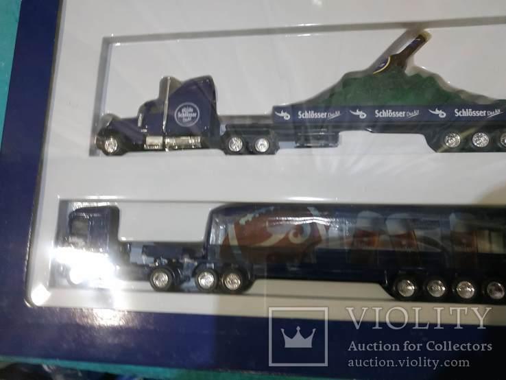 Набор грузовик из Германии с рекламой, фото №12