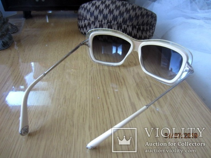 Chic Louis Vuitton  Cream Poppy Z0390w 1970гг, фото №9