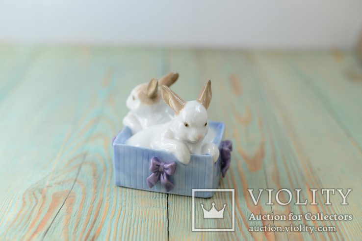 Статуэтка кролики NAO Lladro Daisa 1988, фото №5