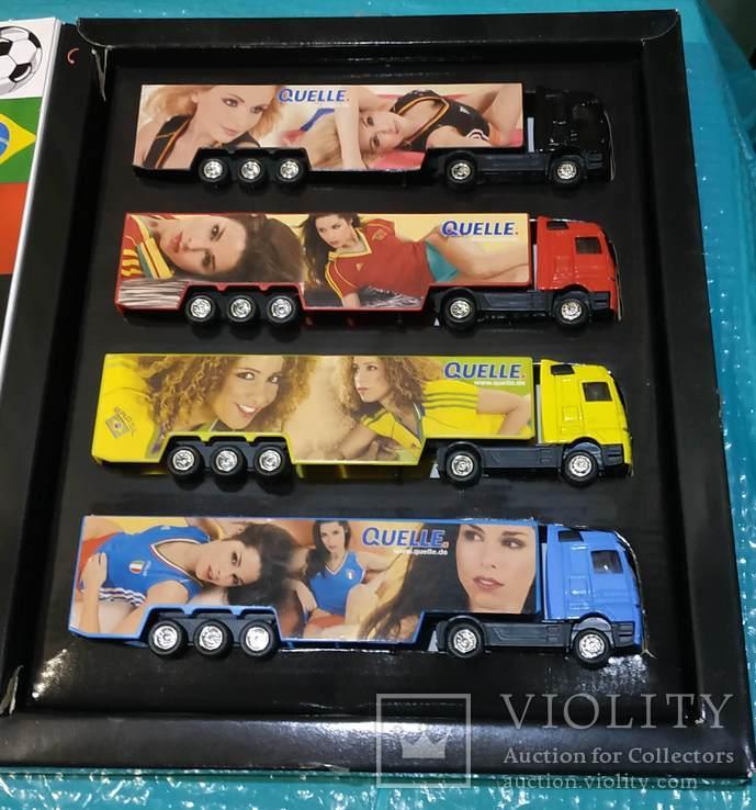 Набор грузовиков из Германии с рекламой, фото №6