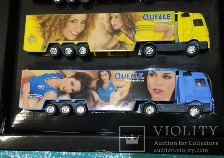 Набор грузовиков из Германии с рекламой, фото №8
