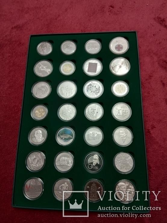 Годовой набор памятных и юбилейных монет Украины 2018г. с упаковкой, фото №3