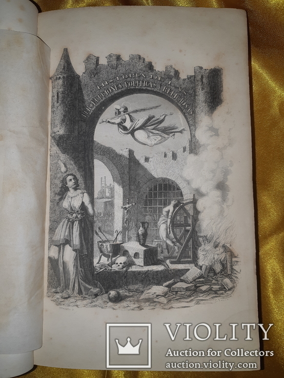1866 История политических и религиозных гонений в Европе