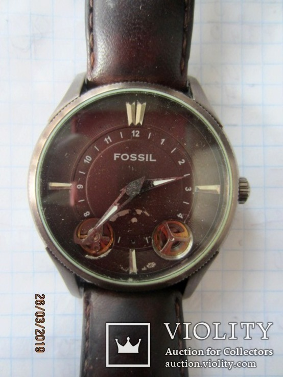 Fossil twist me-1035 automatic, фото №2