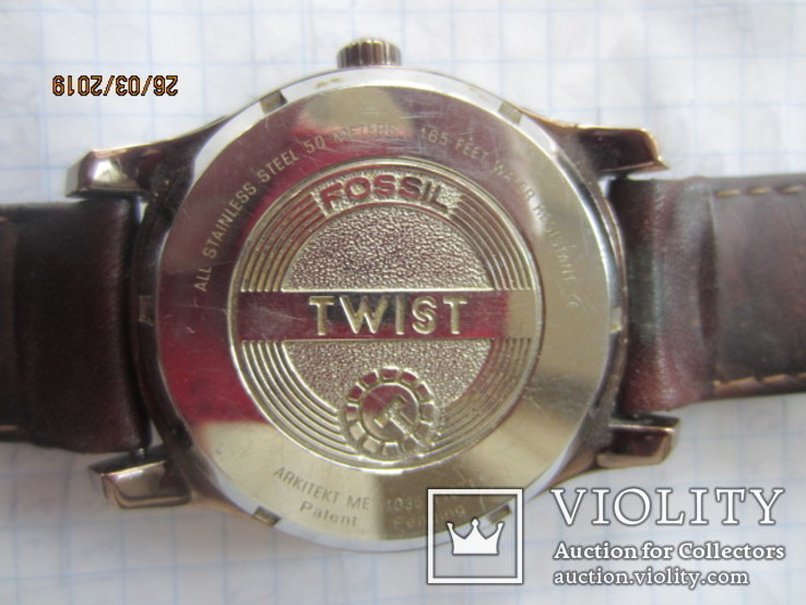 Fossil twist me-1035 automatic, фото №5