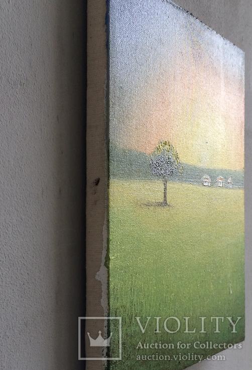 Картина Спогади та мрії, 15х20см. Живопис на полотні., фото №6