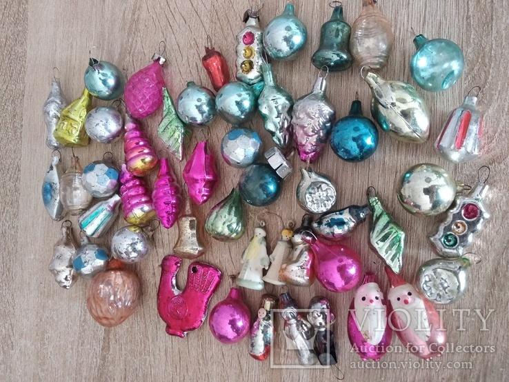 Ёлочные игрушки СССР мини