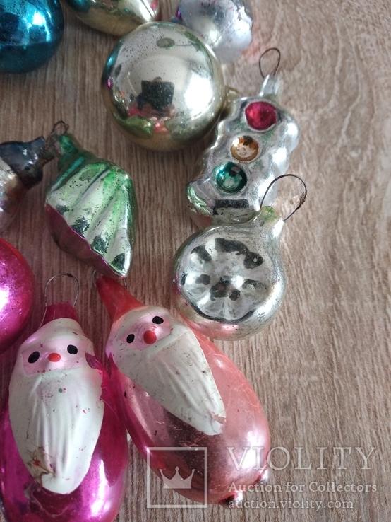 Ёлочные игрушки СССР мини, фото №5