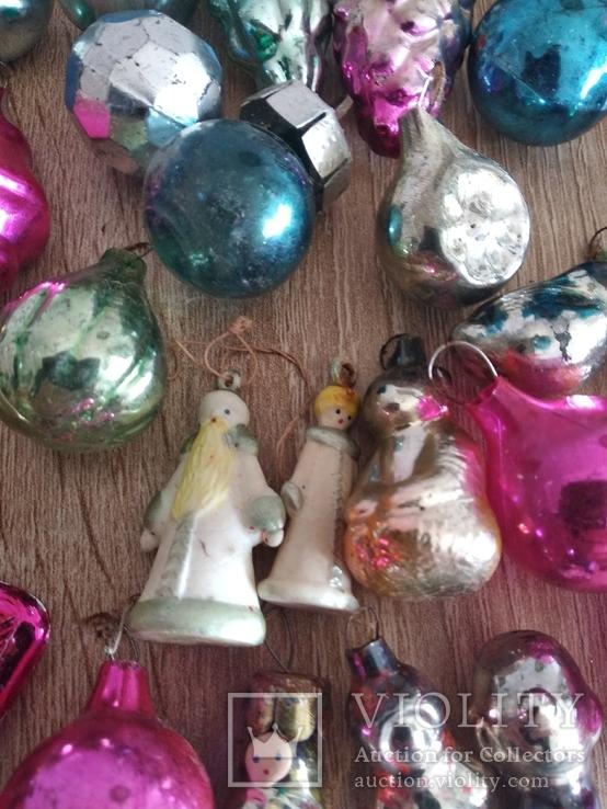 Ёлочные игрушки СССР мини, фото №7
