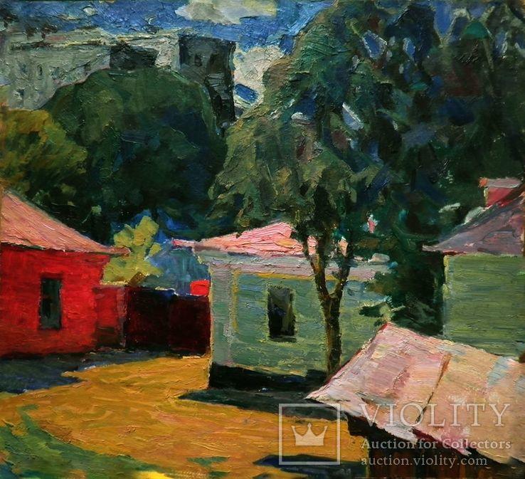 1962 г. Летний день / Summer day. Shavrin Valentin Aleksandrovich 1936-1990