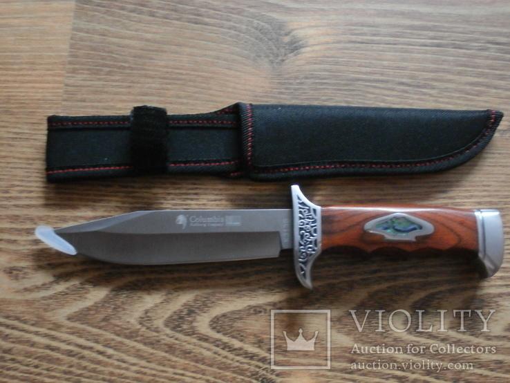 Армейский нож Columbia USA К313В Нож охотничий туристический Columbia, фото №2