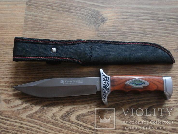 Армейский нож Columbia USA К313В Нож охотничий туристический Columbia, фото №3