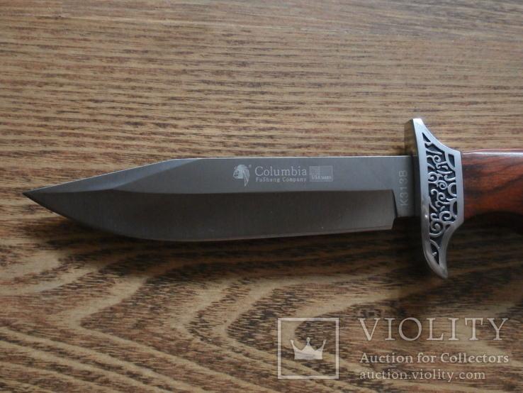 Армейский нож Columbia USA К313В Нож охотничий туристический Columbia, фото №5