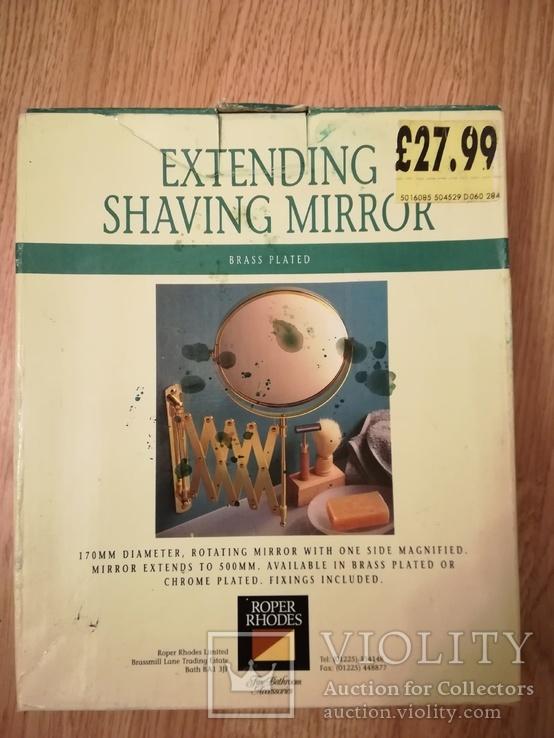 Зеркало выдвижное для бритья, фото №9