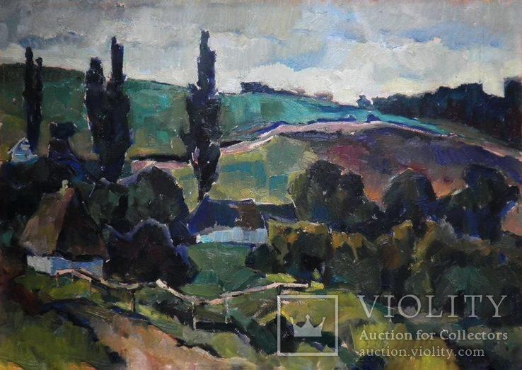 Сельские просторы, 64,5/45 Shavrin Valentin Aleksandrovich (1936-1990)