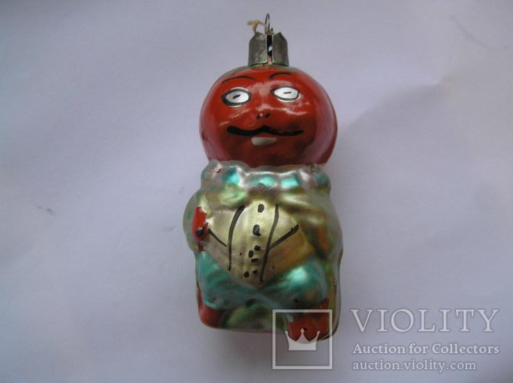 Елочная игрушка Сеньор Помидор, фото №3