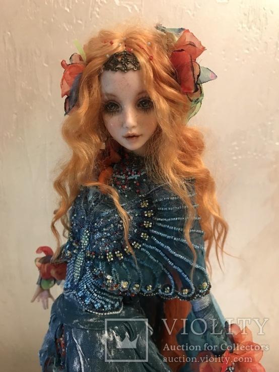 """Коллекционная авторская кукла """"ELLE"""", фото №5"""