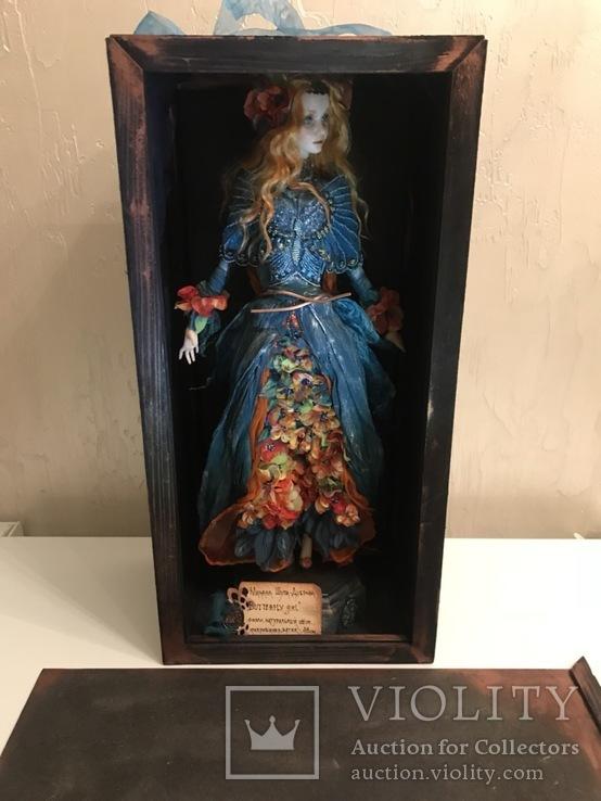 """Коллекционная авторская кукла """"ELLE"""", фото №8"""