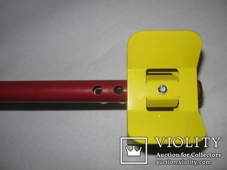 Металлический подлокотник (Garret,X-terra и др.) желтый.Лот номер 2, фото №7