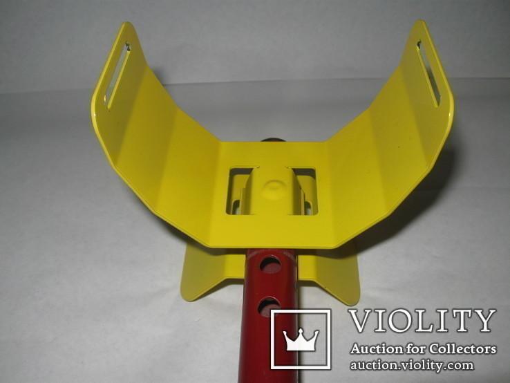Металлический подлокотник (Garret,X-terra и др.) желтый.Лот номер 2, фото №2